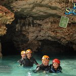 The best expedition of an underground river in the Riviera Maya