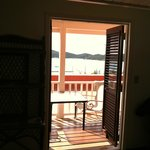 Room 12/14 looking out over Charlotte Amalie's Harbor