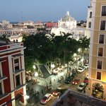 An amazing view of Veracruz from our room