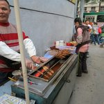 Neighbourhood street vendor - yummy food!