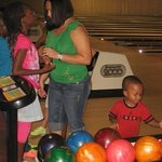 My son picking out his ball lol