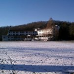 The Shawnee Inn from the riverside