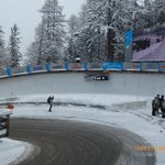                                     Bobsleigh on one bend