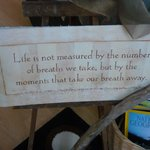 one of many sayings at the INN