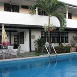 Swimming pool Guesthous Amice Paramaribo