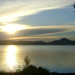 Sunset at Wallis lake 500m walk