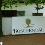 A must visit, the Bschendal Winery - established 1685