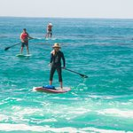 Paddleboarding in Laguna Beach with La Vida Laguna