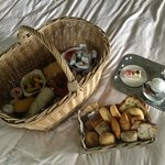 The breakfast basket room service