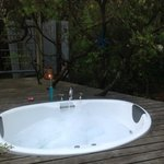                    Outdoor Bath tub!