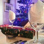                    Xmas table