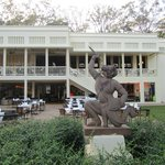 The FCC Siem Reap, great dining on the upstairs balcony