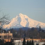  View of Mt Hood from 3rd floor room