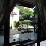 Hotel Bali Diary, view from the suite