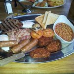 big brekkie at west coast love it