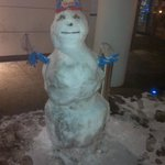 Sid the Snowman - made by the friendly Staff