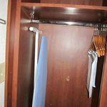 My closet with ironing board