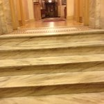                    Steps to lobby