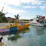 Caicos Cat & Seabrezze Leaving from our Private Docks