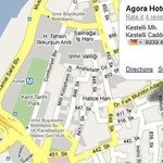 Agora Konak Saray Hotel Map