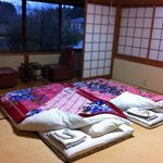 room in yamakazi ryokan. taken 25th jan 2013