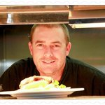  Owner &amp; Head Chef of Bert&#39;s Bistro at Banjo&#39;s-Michael Bertram.