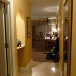  View from the guest room entrance; a large room