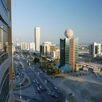                    Downtown Fujairah from 13th floor room.