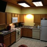 Comal cabin kitchen