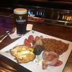 Irish breakfast.