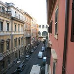                    Street view from the room window 2