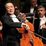 Cellist Yo-Yo Ma performed with Cape Cod Symphony Orchestra February 2012