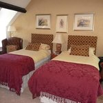 Red and Gold Suite as a twin bedded room