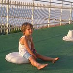  Mio Figlio Luca .. sulla terrazza dell&#39; Hotel Concorde