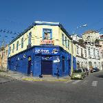Hostal  Backpackers licanantay Valparaiso
