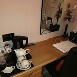 DESK AND COFFEE FACILITIES