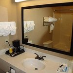 Irish Inn Suites Muleshoe Restroom