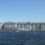 Winter Palace and Hermitage on Neva Embankment