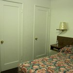 Bed & closet doors of the 2nd room