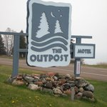 Outpost sign