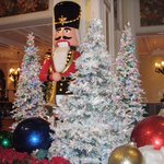  Lobby decorations at Beau Rivage