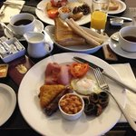 Full English at The White Horse