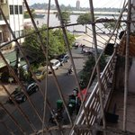 Looking toward Sisowath Quay from the Balcony room