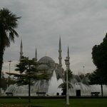 The Blue Mosque, a short walk away