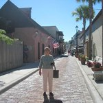                    On the oldest street in the USA, steps from the Victorian House