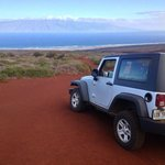 drive down to the beach - lanai