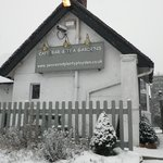 A Snowy day at the Peace and Plenty