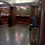                    Front desk of the Goldiana