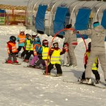 Ski school for kids