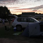 Bayview campground - view on site